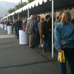 The line-up for THE GIRLS IN THE BAND's last screening went around the block! At Palm Springs International Film Festival.
